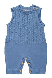 Knitted Dungarees (9-12M only)