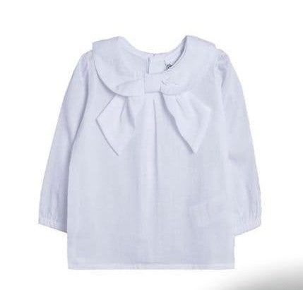 Girls bow blouse