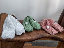 Load image into Gallery viewer, Hand Knitted Booties - 6 Colours