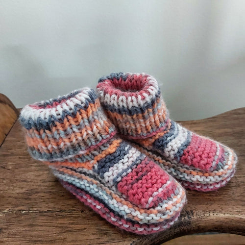 Hand Knitted Booties - 6m +