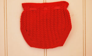 'Handel' knit pants - Red
