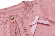 Load image into Gallery viewer, Dusky pink cardigan (2 years)