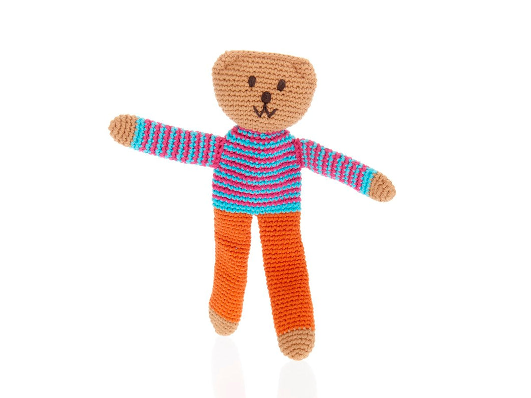 Flipp Teddy Bear - Orange Trousers