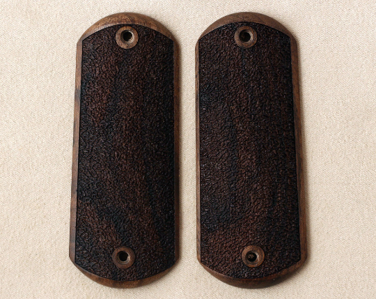 Colt 1903 & 1908 Hammerless grips made from walnut wood. (make your own custom pair of grips). - Bestpistolgrips