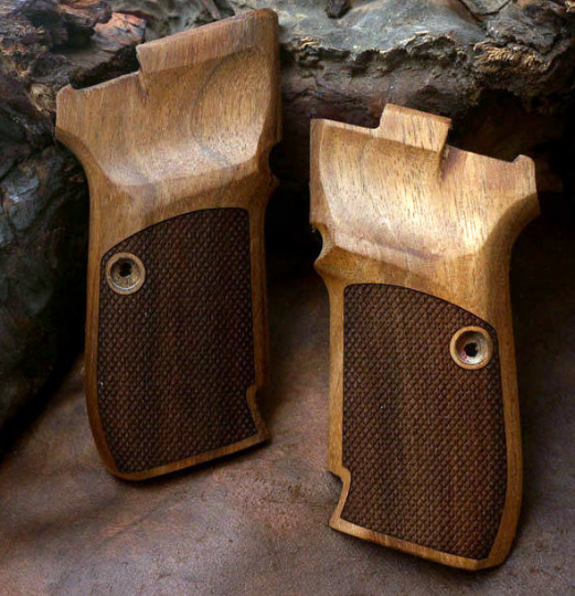 Cz 82 & 83 grips made from Walnut wood. (make your own custom pair of grips). - Bestpistolgrips