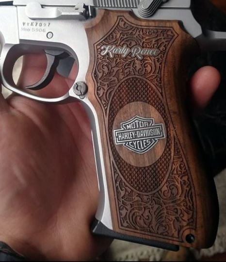 Smith & Wesson 5906 custom pistol grips - Bestpistolgrips
