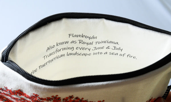 Flamboyán Chuchería Bag