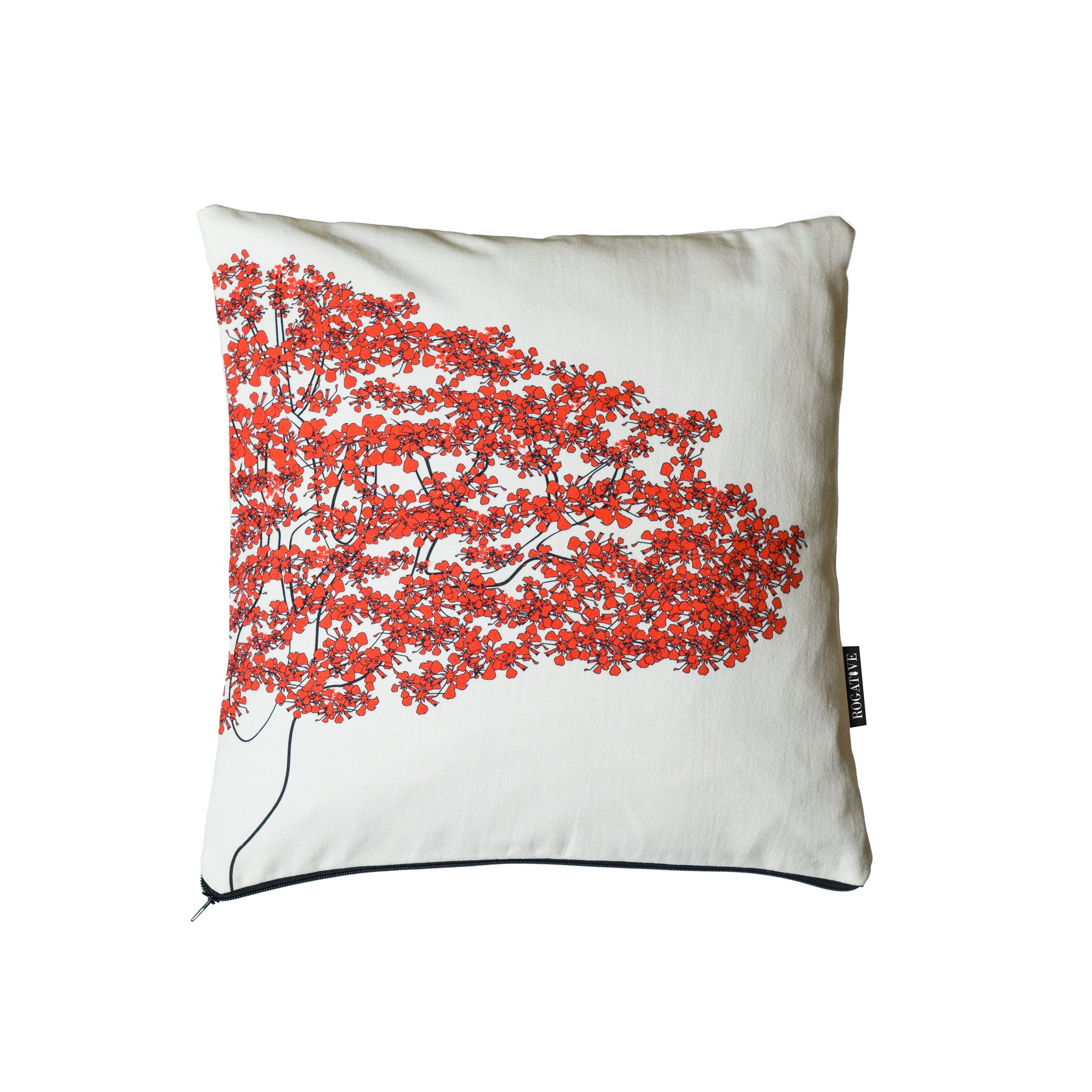 Flamboyán Decorative Pillow Cover