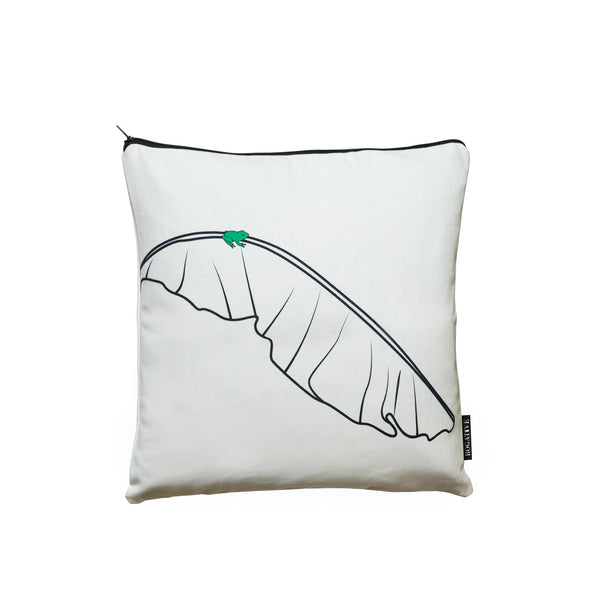 Coquí Decorative Pillow Cover