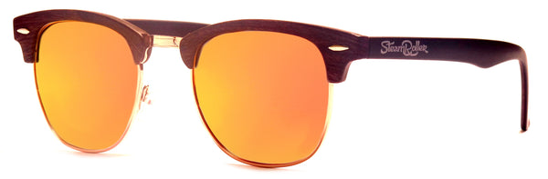 Steam Wood Red Polarized