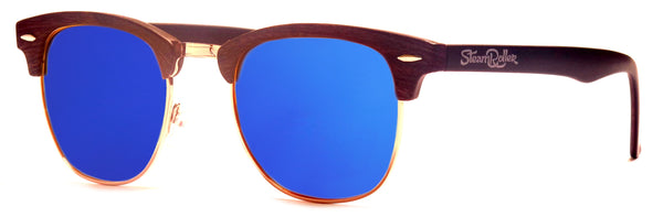 Steam Wood Blue Polarized