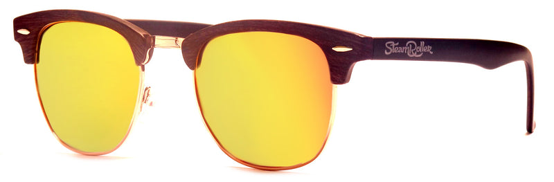 Steam Wood Yellow Polarized