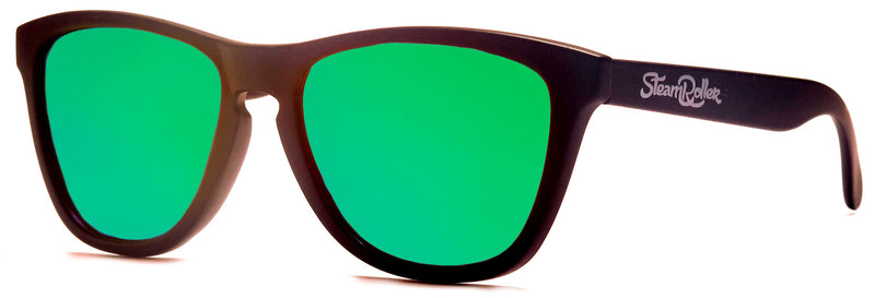 Ibiza Sand Black-Green Polarized