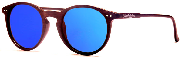 Moon Wood Blue Polarized