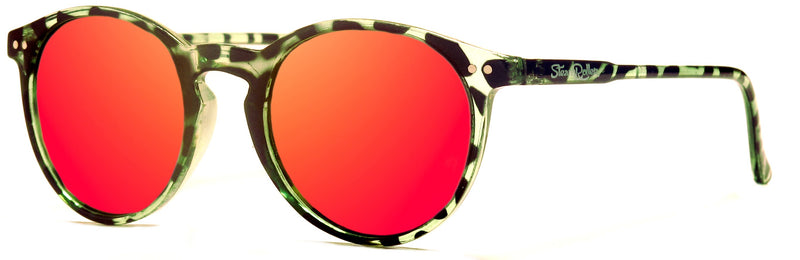 Moon Green Tortoise-Red