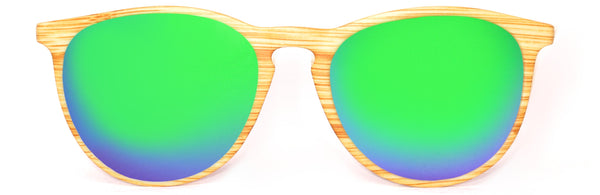 Roller Light Wood Green Polarized
