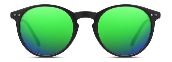Moon Sand Black Green Polarized