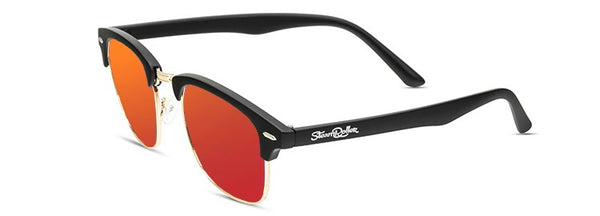 Steam Sand Black Red Polarized
