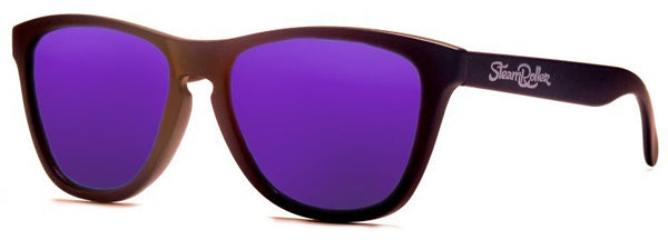 Ibiza Sand Black-Purple Polarized