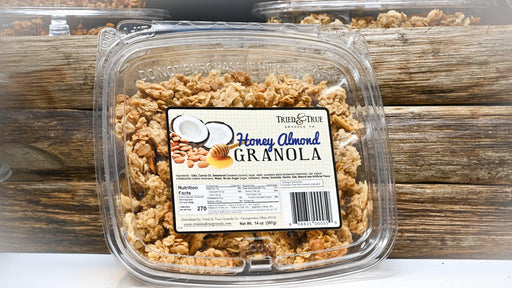 Honey Almond Granola 14oz - Kauffman's Dutch Market