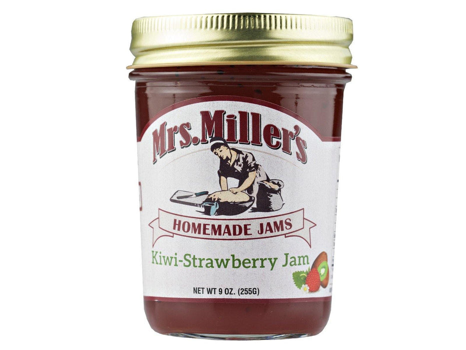 Mrs. Millers Kiwi Strawberry Jam - Kauffman's Dutch Market