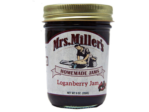 Mrs Millers Loganberry Jam 9oz - Kauffman's Dutch Market