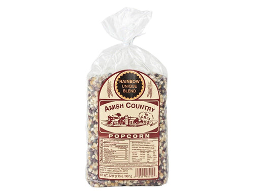 Amish Country Rainbow Popcorn 2lb - Kauffman's Dutch Market