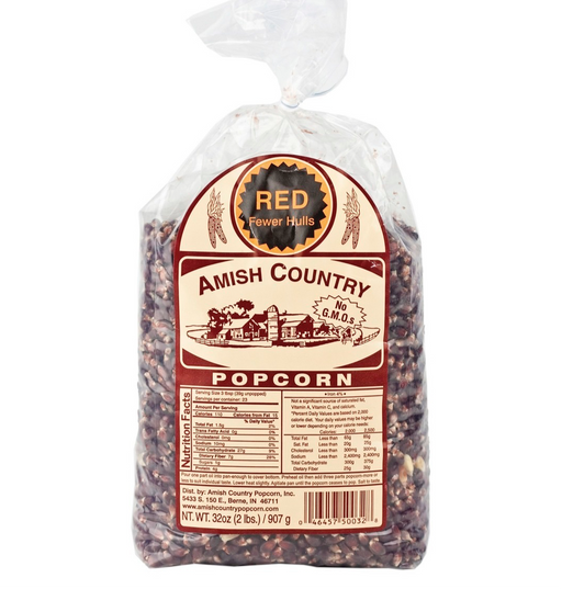 2lb Red Popcorn - Kauffman's Dutch Market