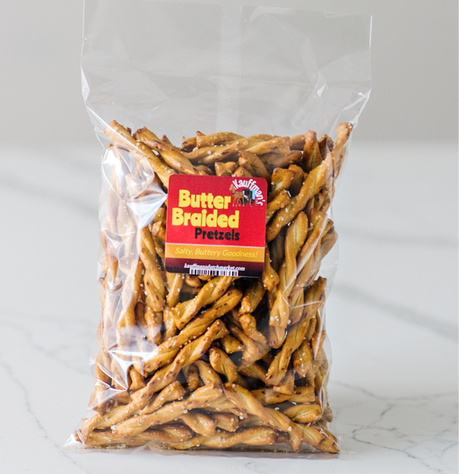 Butter Braided Pretzels 8oz - Kauffman's Dutch Market