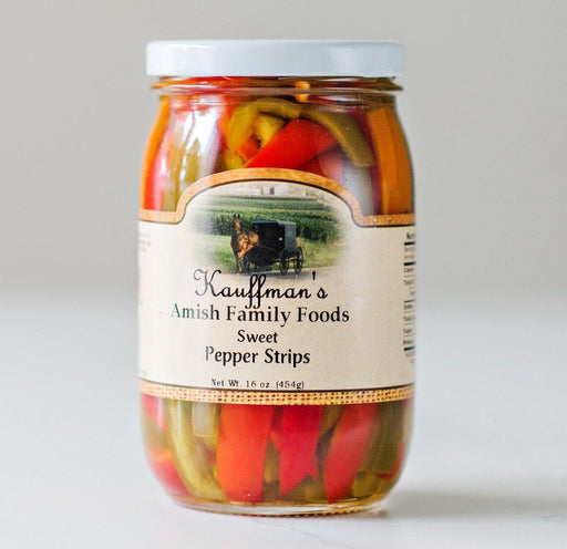 Sweet Pepper Strips - Kauffman's Dutch Market
