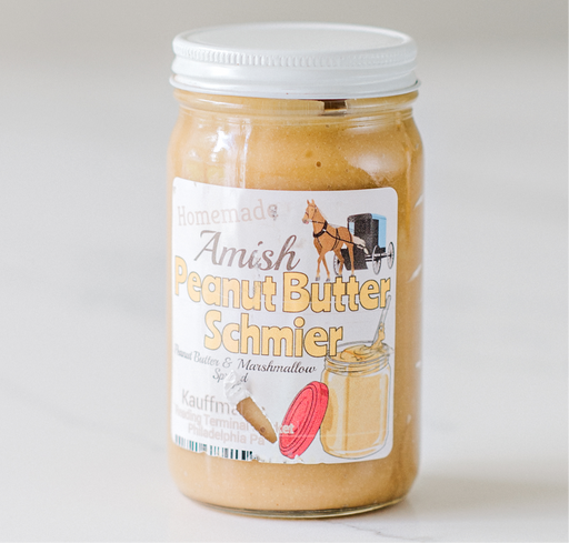 Amish Peanut Butter Schmier 8oz - Kauffman's Dutch Market