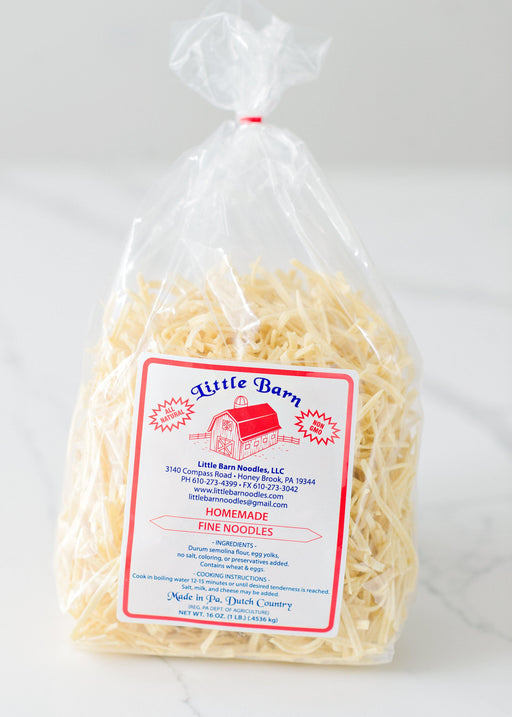 Little Barn Fine Noodles - Kauffman's Dutch Market