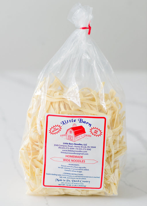 Little Barn Wide Noodles - Kauffman's Dutch Market