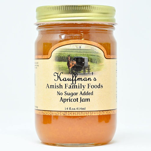 Apricot Jam No Sugar Added - Kauffman's Dutch Market