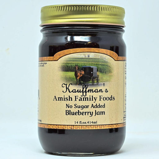 Blueberry Jam No Sugar Added - Kauffman's Dutch Market