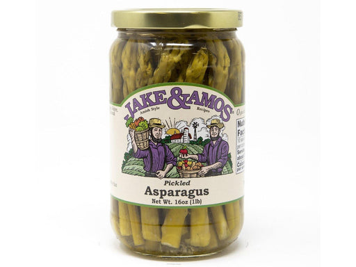Jake & Amos Pickled Asparagus - Kauffman's Dutch Market