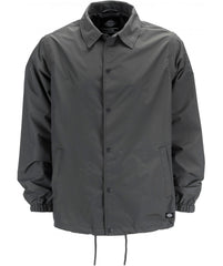 Dickies Torrance Coach Jacket - Charcoal