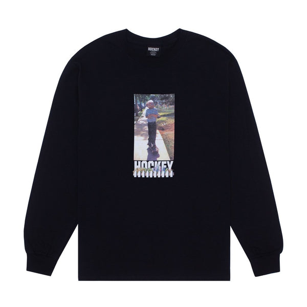 Hockey - Neighbor L/S T-Shirt - Black