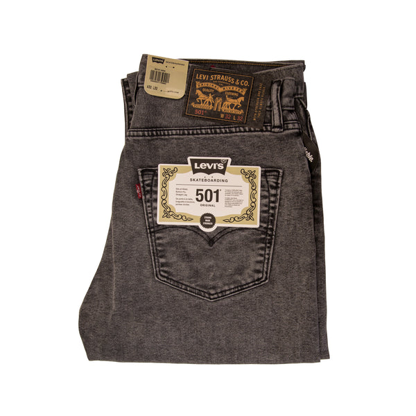 Levi's 501 Straight Leg Original - Grey Wash