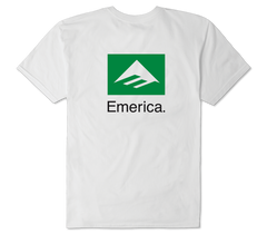 Emerica Brand Combo T-Shirt White