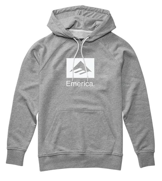 Emerica Brand Combo Pullover - Grey Heather