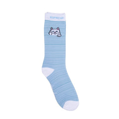 Rip 'n' Dip - Peaking Nermal Socks - Baby Blue/White