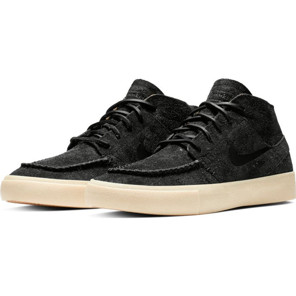 Nike Zoom Janoski Mid RM Crafted - Black/Black-Golden Beige