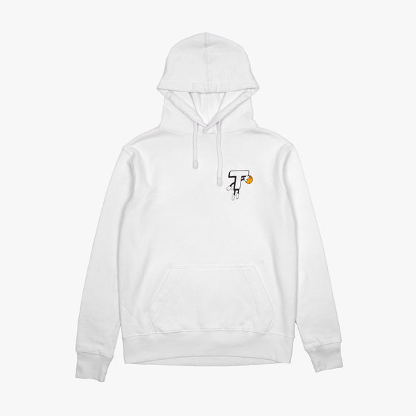 "Theobalds Cap Co. ""Baller Pack"" Hooded Top White"