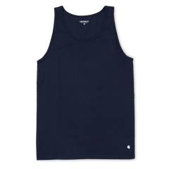 Carhartt WIP Base Vest - Dark Navy/White
