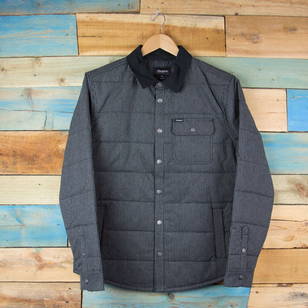 Brixton Cass Jacket - Black/Grey