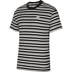 Nike SB Striped T-Shirt - Black/White