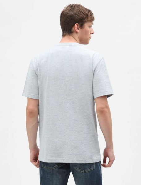 Dickies S/S Pocket T-shirt - Heather Grey