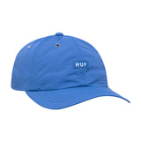 HUF - DWR Fuck It Curved Visor 6 Panel - Olympian Blue