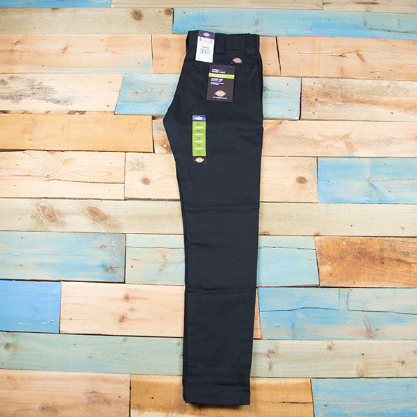 Dickies 803 Slim Skinny Work Pants - Black
